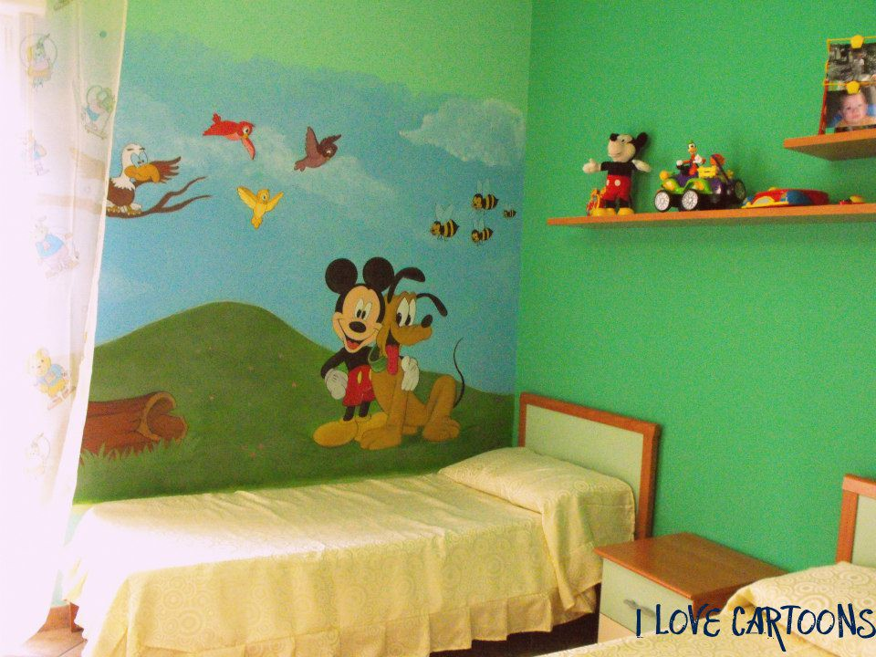 Super Murales Disney | I love cartoons - Murales e pannelli RH09