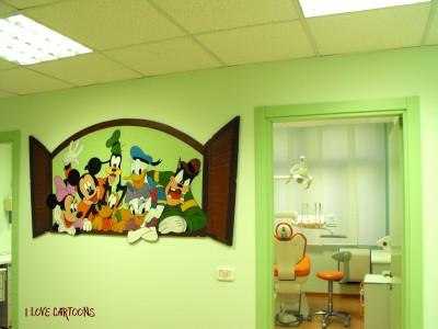 Murales e pannelli disney per colorare ogni ambiente i for Decorazioni camerette bambini