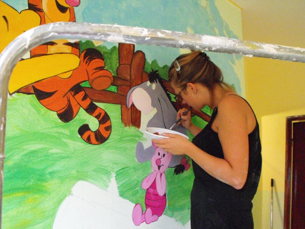 Murales Winnie the Pooh nella cameretta del tuo bambino | I ...