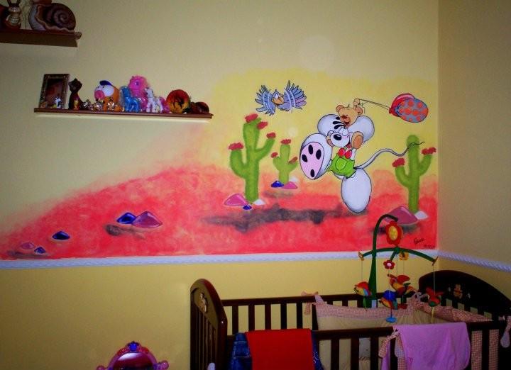 murales, adesivi, pannelli, decorazioni, immagini murali, bambini ...