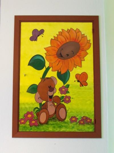 Disegni per la cameretta pimboli i love cartoons for Murales per cucina